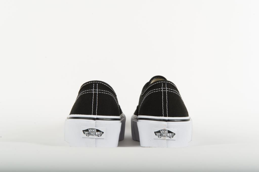 Vans Authentic Platform 2.0 Sneaker Donna VA3AV8BLK Black | eBay