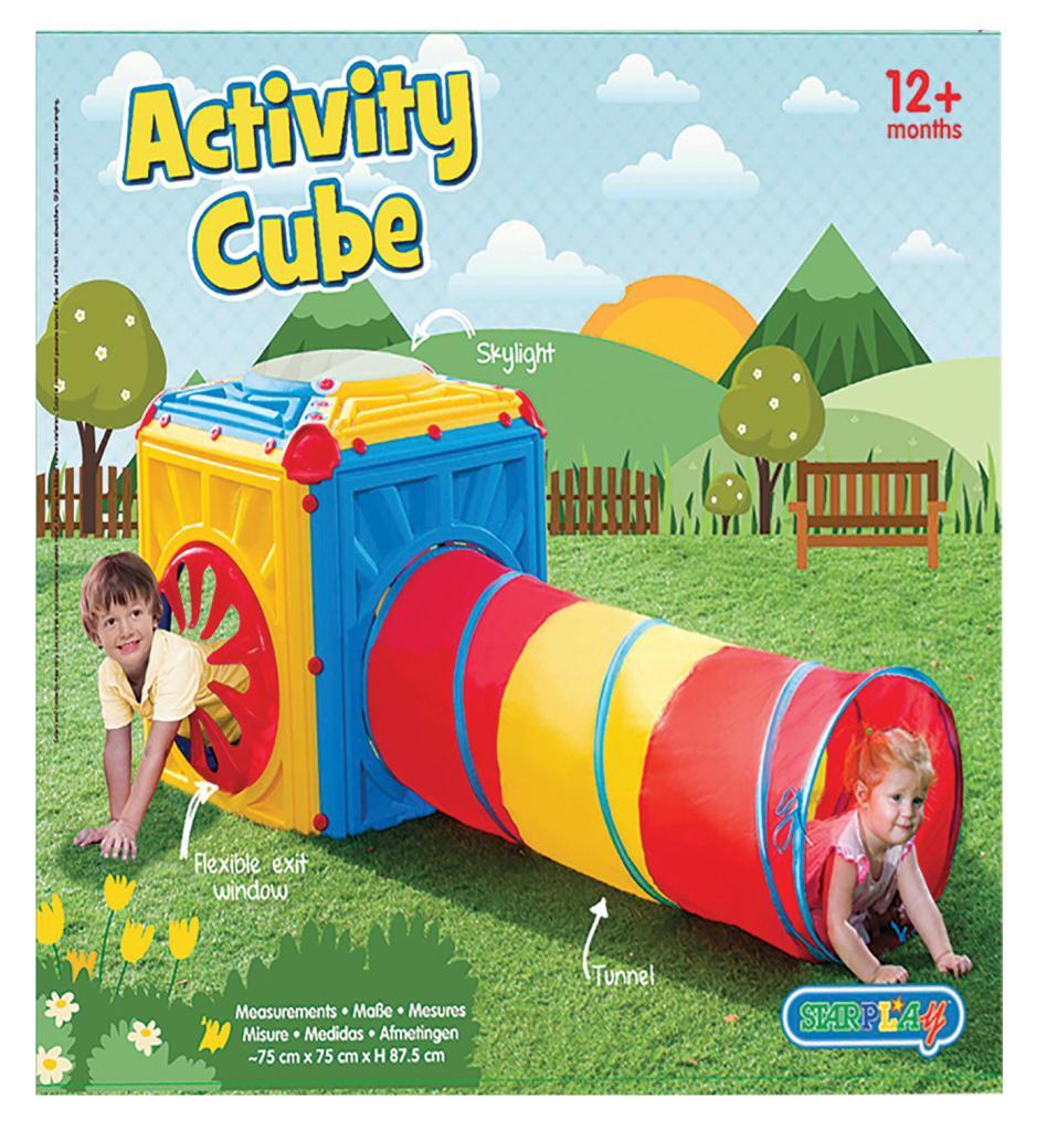 Giochi Per Bambini In Giardino dettagli su gioco da giardino per bambini con tunnel giochi in plastica  colorato magic cube