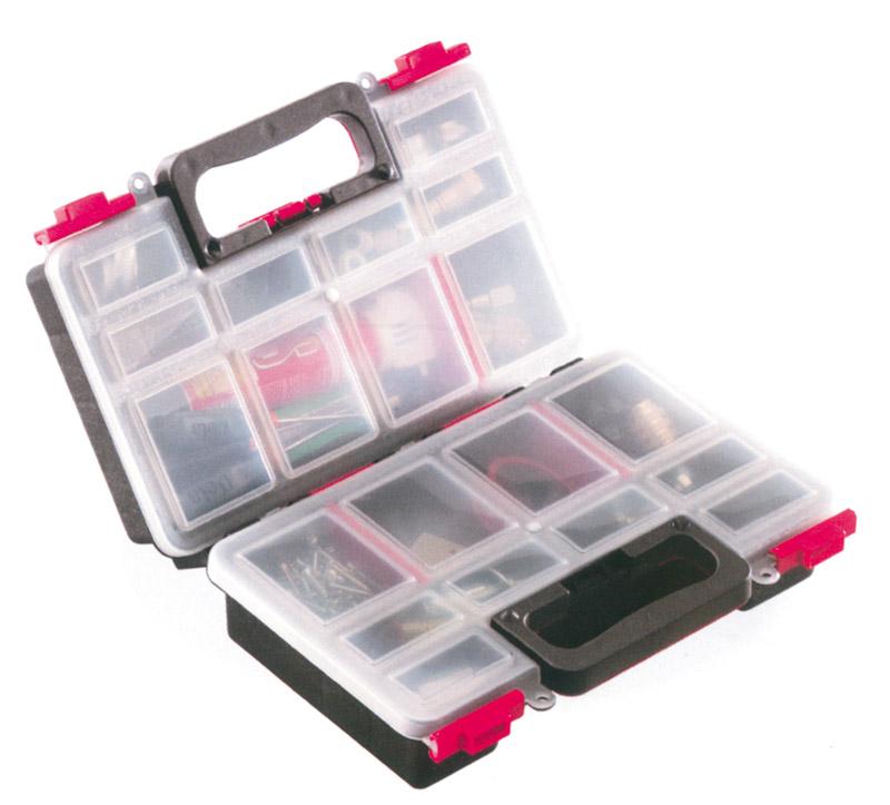 Cassetta Valigetta Box Contenitore 15 Scomparti Viti Bulloni Lavoro hmj