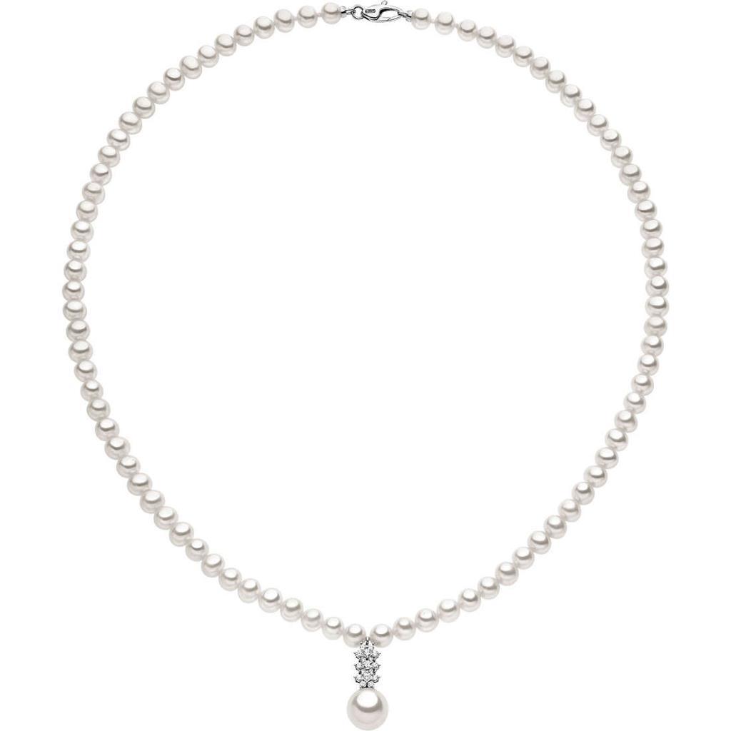 arrivo all'ingrosso online selezione premium Collana di Perle Vere da Donna Comete FWQ 135 Oro Bianco Made in ...