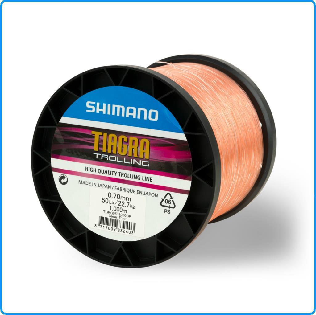 Fil De Peche Rose détails sur fil shimano tiagra pêche à la traîne 1000m 50lb 0.70mm 22.7kg  rose à vivaneau