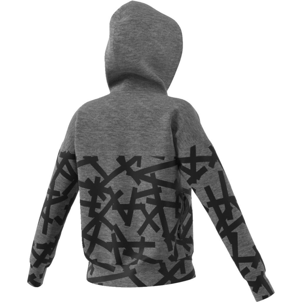 Essentials Felpa Graphic Zip Adidas Hoodie Ebay 5RTFwRq